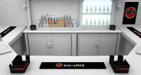 Bacardi – 150 Anniversary Point of Sale Kit